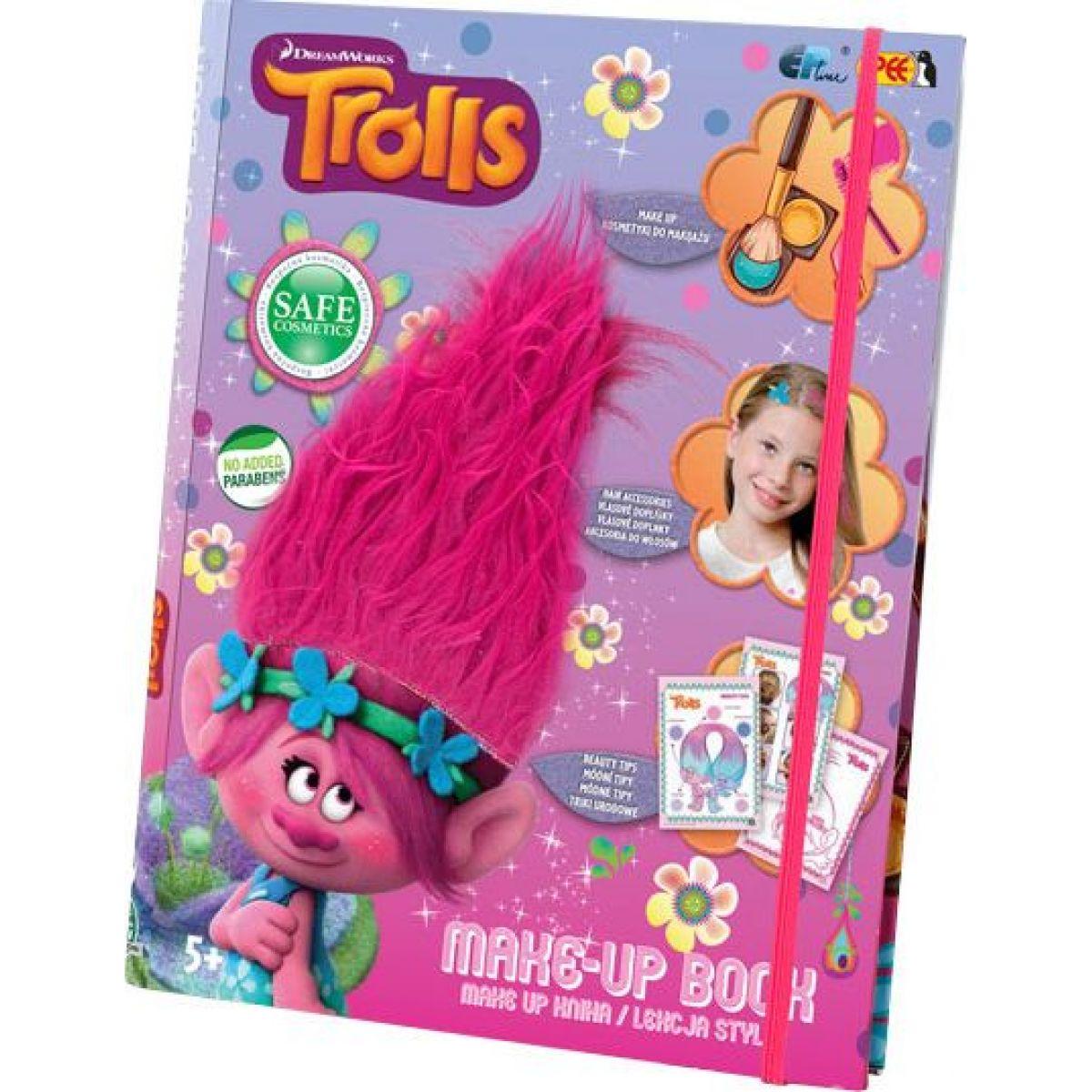 Trollové Make up kniha