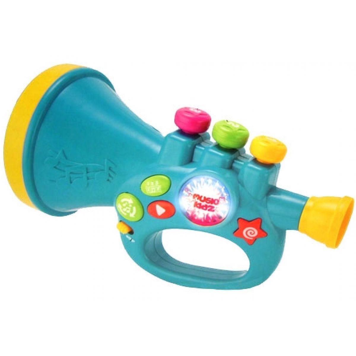 Trumpeta se světlem a zvukem
