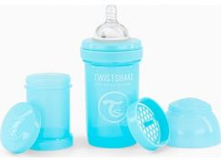 Twistshake Kojenecká láhev Anti-Colic 180 ml pastelově modrá