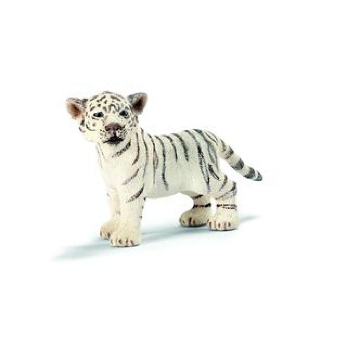 Tygr bílý mládě stojící Schleich 14384