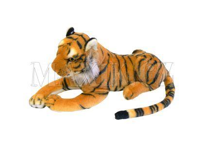 Tygr plyšový hnědý 45 cm