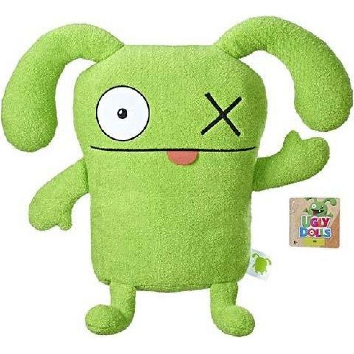 Uglydolls Velká plyšová figurka zelený OX 33cm
