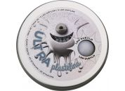Ultra Plastelína 80g s led světlem šedá