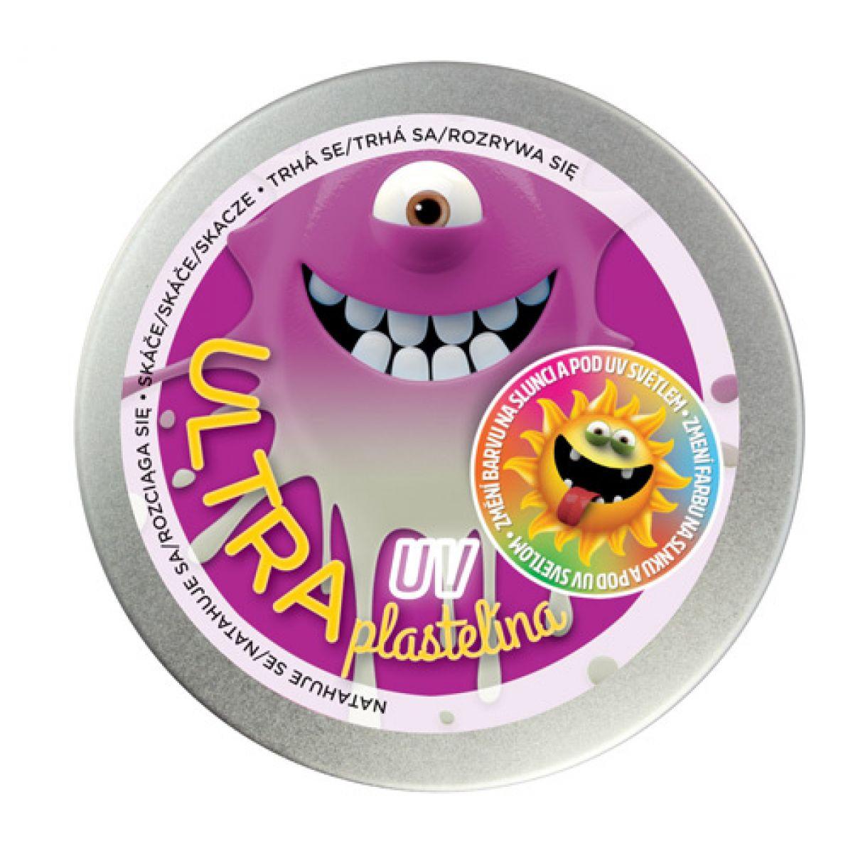 Ultra Plastelína 80g UV fialová