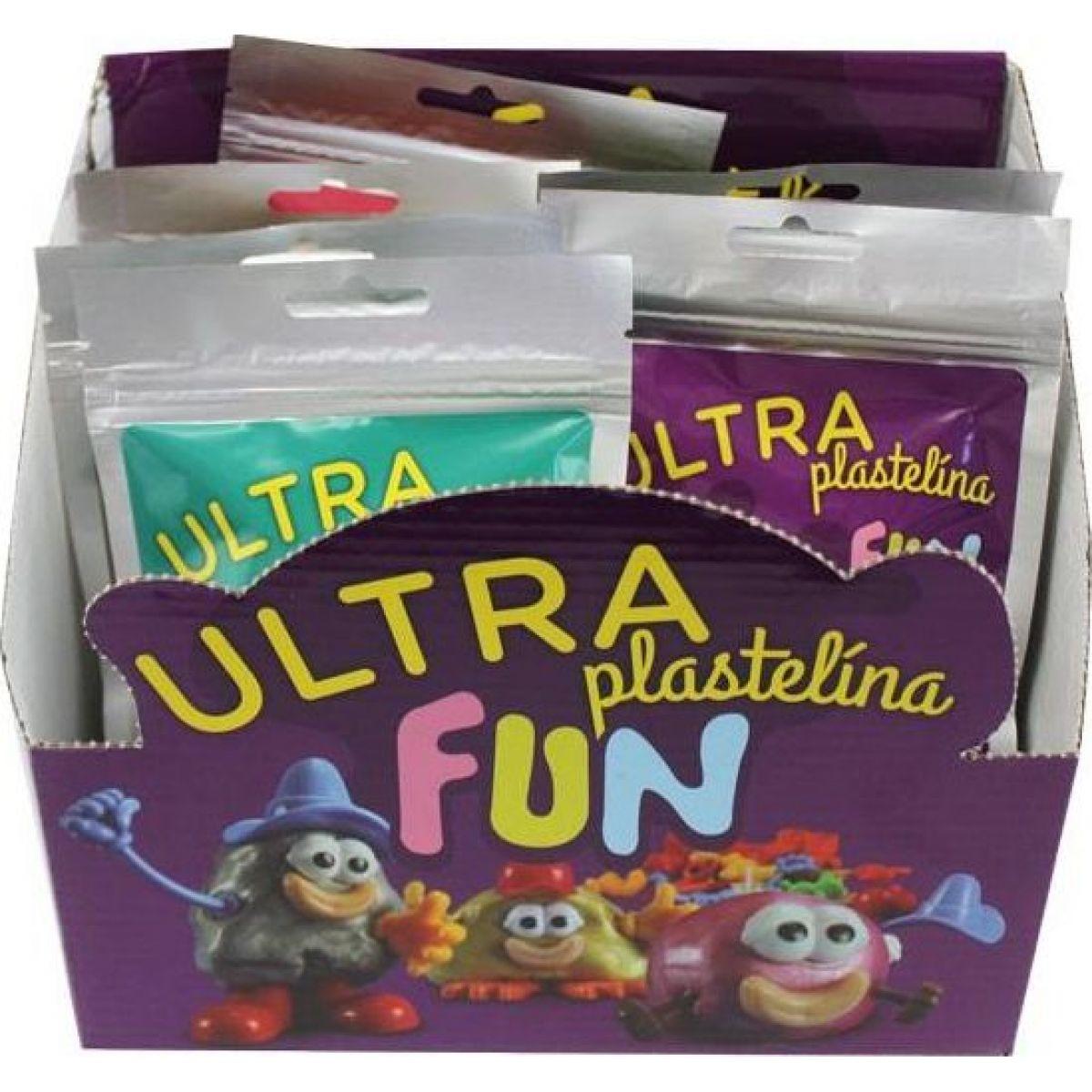 Ultra Plastelína Fun 21g - Pastelová zelená