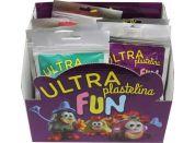 Ultra Plastelína Fun 21g - Šedá