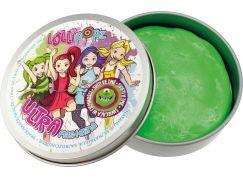Ultra Plastelína Lollipopz, svítící ve tmě, 50 g zelená