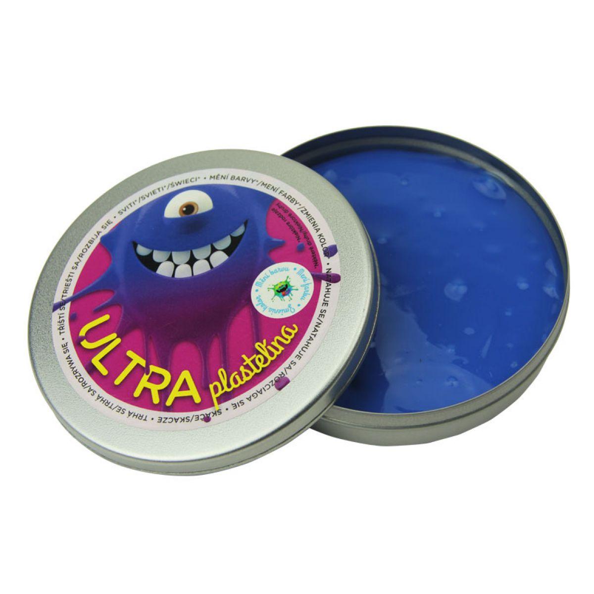 Ultra Plastelína Měnící 80g - Fialová