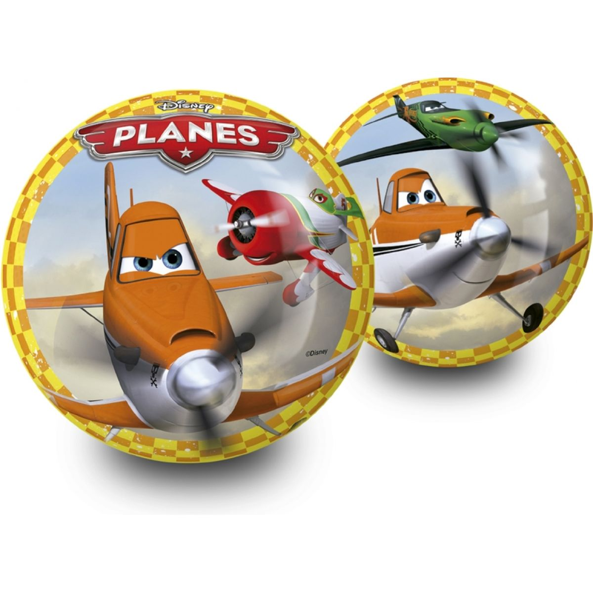 Unice Míč Disney Letadla 23 cm