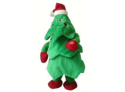 Vánoční stromeček zpívající tancující 31 cm