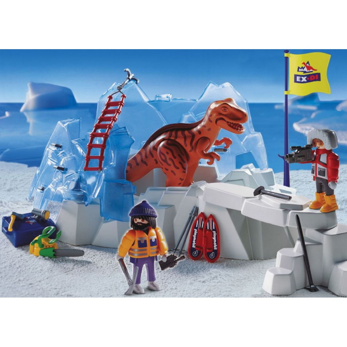 Velký nález dinosaura Playmobil