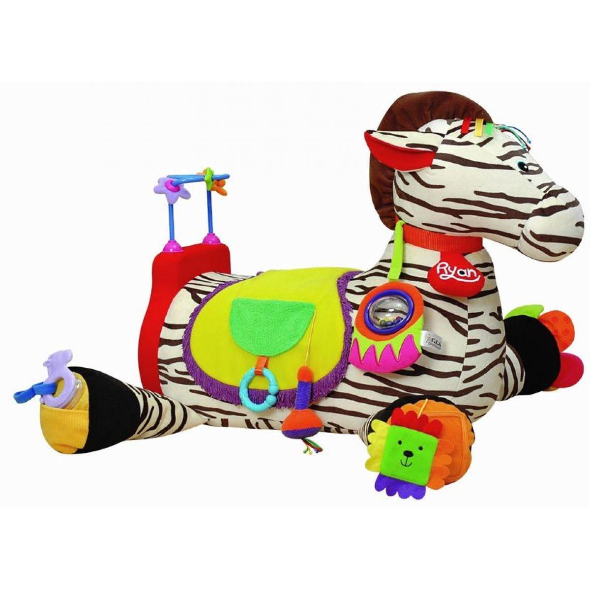 Velká zebra RYAN s 28 funkcemi zábavy