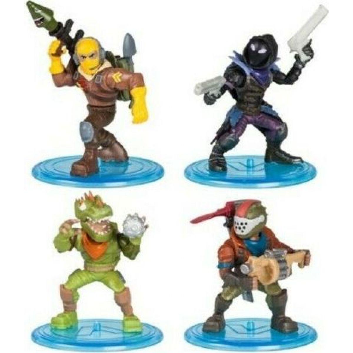 Velký set 4 figurky Fortnite W1