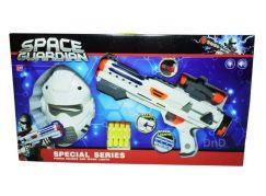 Vesmírná pistole s maskou na baterie