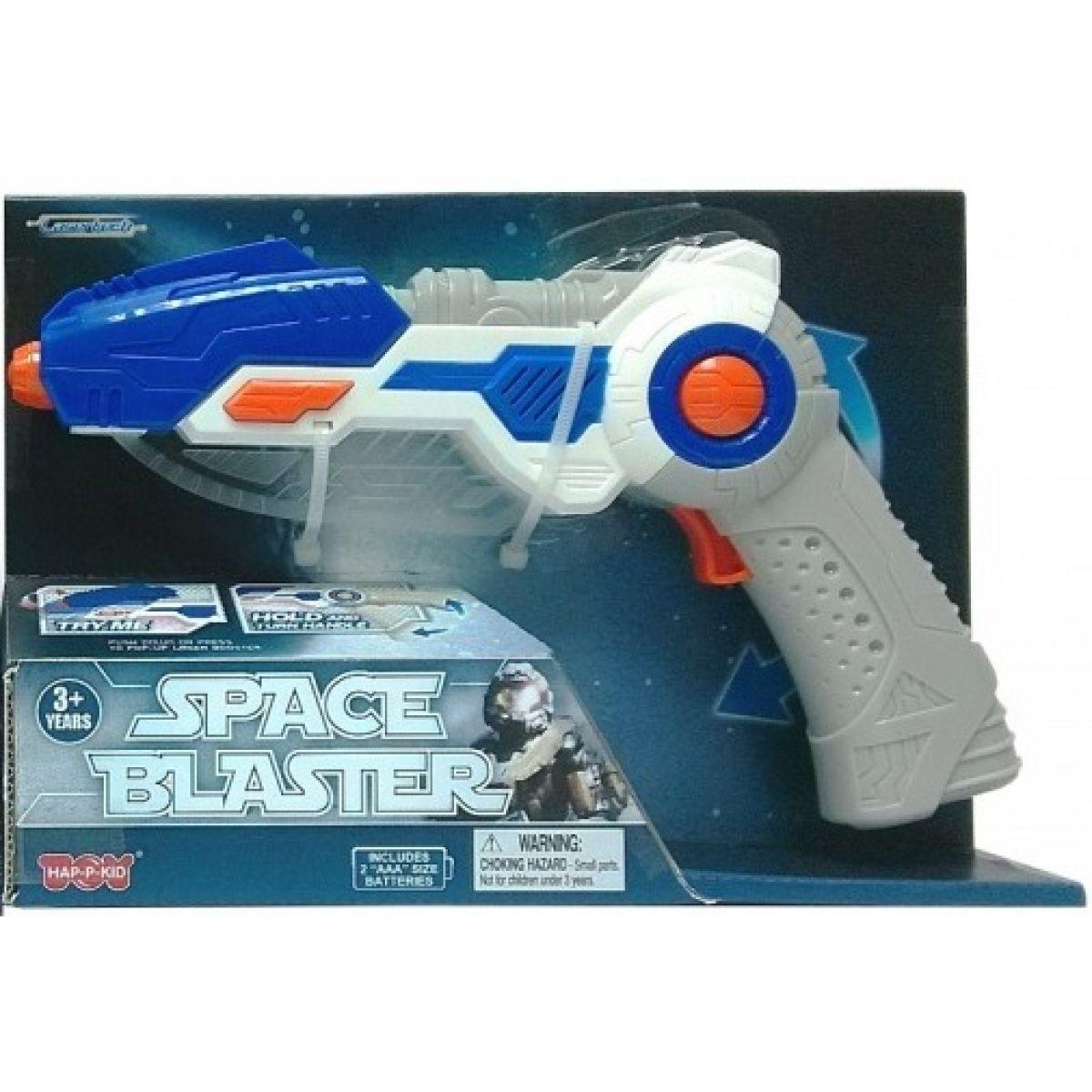 Vesmírná zbraň 2v1 modrá