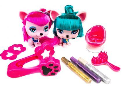 Vip Pets Mazlíčci Yuko a Gigi s kadeřnickými doplňky