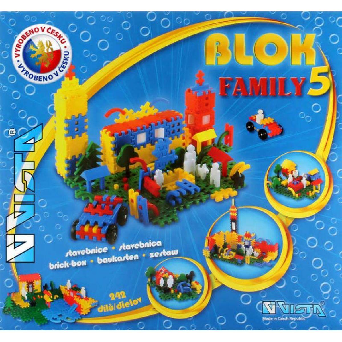 Vista Blok Family 5 - 242 dílků