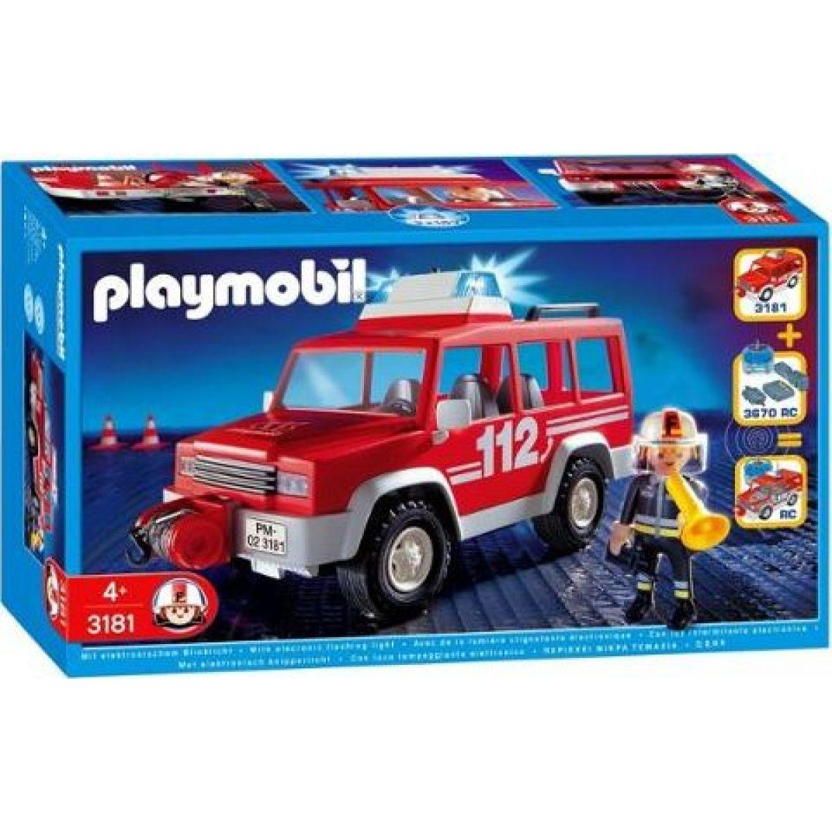 Výjezdové auto Playmobil