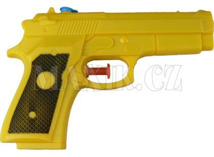 Vodní pistole 14 cm - Žlutá