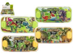 Vodní hra hlavolam dinosaurus 15x7cm
