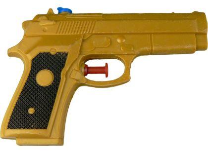 Vodní pistole 14 cm - Zlatá