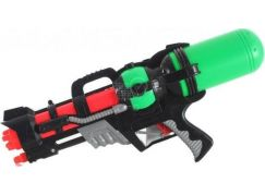 Vodní pistole 46 cm zelená nádrž