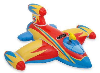 Vodní vozidlo Letadlo s pistolí Intex 57539 - Červená