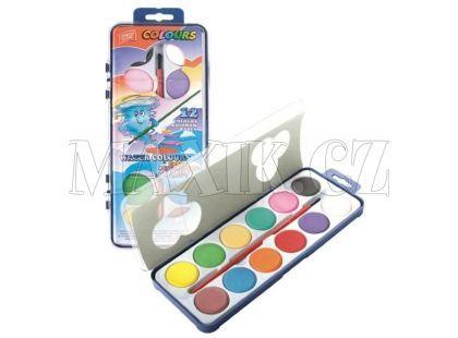 Vodové barvy WaterColours 12 barev