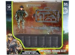 Vojenská sada barikáda