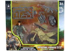 Vojenská sada motorka