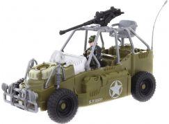 Vojenská sada s džípem