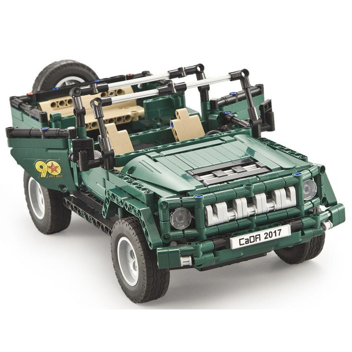 Vojenské auto na dálkové ovládání