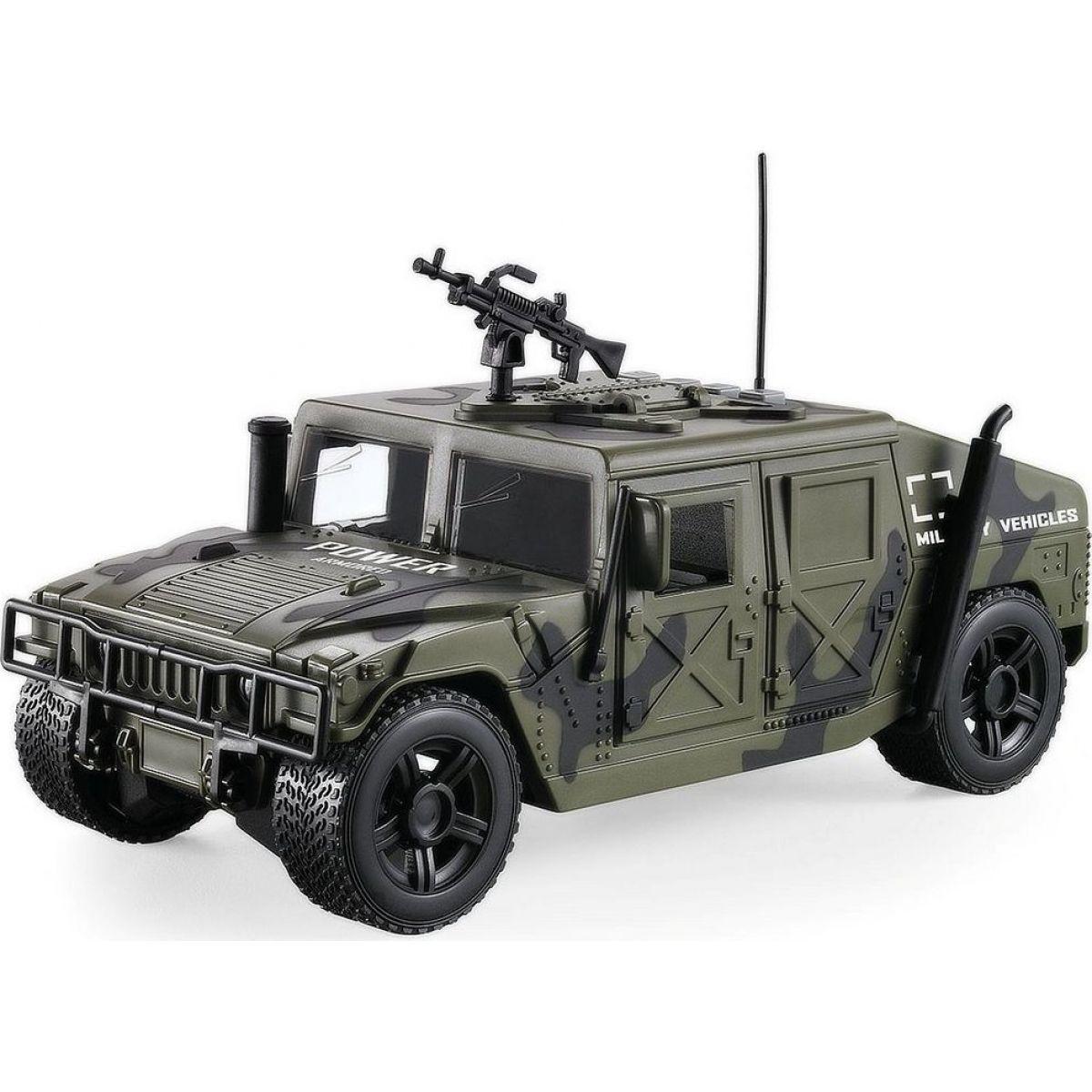 Vojenské auto s českým hlasem