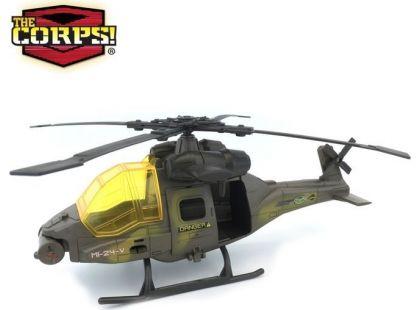 Vojenský set 33 cm - Vrtulník