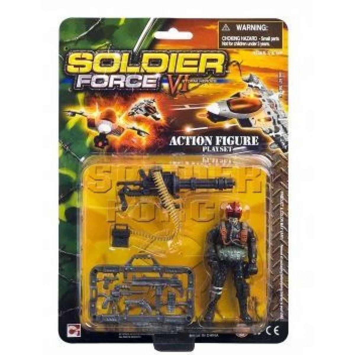 Voják s doplňky