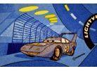 Vopi Cars Koberec modrý 133x165cm 4