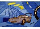 Vopi Cars Koberec modrý 200x200cm 4