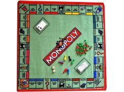Vopi Dětský hrací koberec Monopoly s figurkami