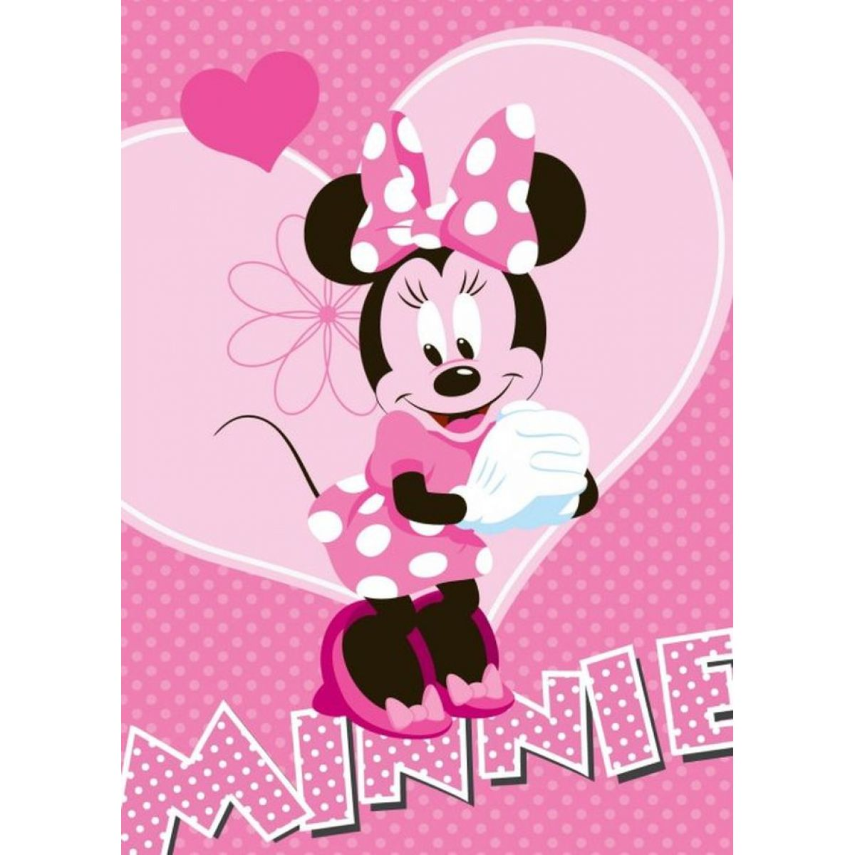 Vopi Disney Koberec Minnie Flower 95x133cm