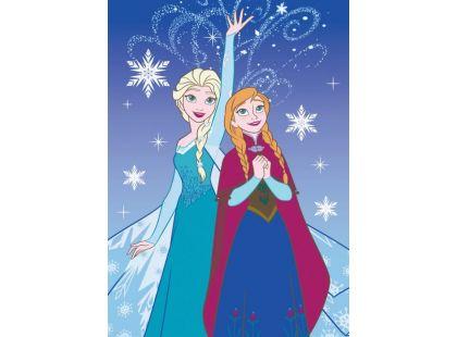 Vopi Ledové království Koberec Anna a Elsa 95x133cm