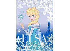 Vopi Ledové království Koberec Elsa 95x133cm