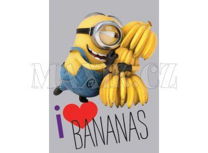 Vopi Mimoni Koberec I Love Bananas 95x133cm