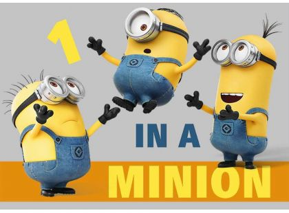 Vopi Mimoni Koberec One in a Minion 95x133cm