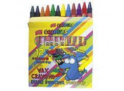 Voskovky EasyColours 18 barev