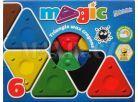 Voskovky magické trojboké Basic 6ks 2