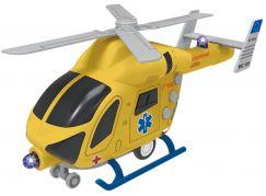 Vrtulník záchranný na setrvačník se světlem a zvukem
