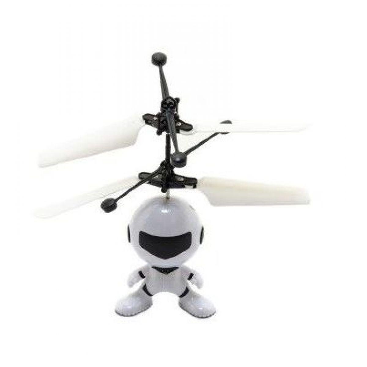 Vrtulníkový robot létající s USB kabelem černý
