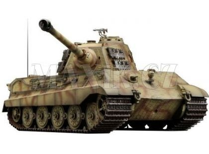 VsTank RC Tank Airsoft German King Tiger brown