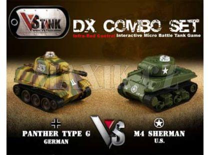 VsTank V4 Double Panther vs. US Sherman