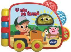 Vtech knížka U nás na farme SK - Poškozený obal